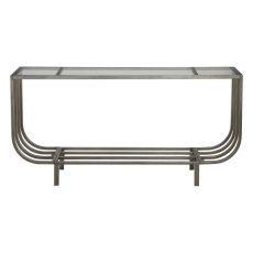 Uttermost Arlice Bright Silver Console Table