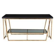 Uttermost Agnes Black Granite Coffee Table
