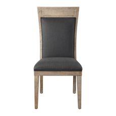 Uttermost Encore Dark Gray Armless Chair
