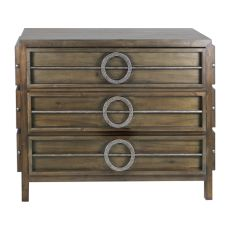 Uttermost Riley Weather Walnut Accent Chest