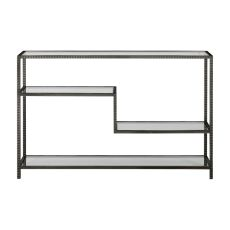 Uttermost Leo Industrial Console Table