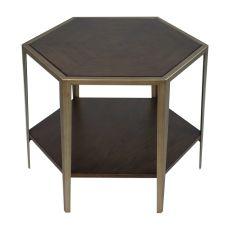 Uttermost Alicia Geometric Accent Table