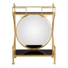 Uttermost Presley Gold Bar Console
