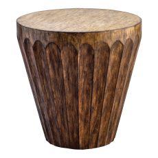 Uttermost Dova Drum Accent Table
