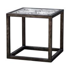 Uttermost Baruti Iron Frame End Table
