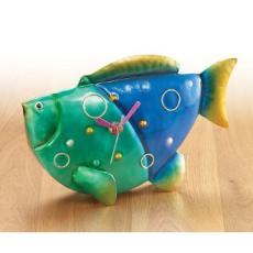 Deco Flair Figurine Desk Clock - Fish