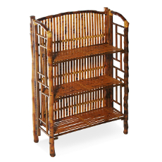 Coastal Bamboo Folding Bookcase