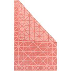 Flatweave Tribal Pattern Pink Cotton Area Rug (8X11)