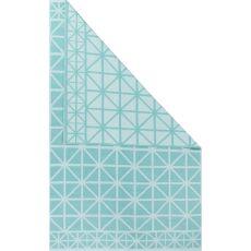 Flatweave Tribal Pattern Blue Cotton Area Rug (8X11)