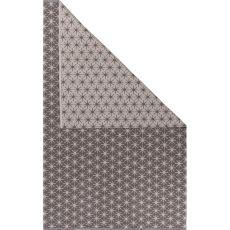 Flatweave Tribal Pattern Beige/Brown Cotton Area Rug (8X11)