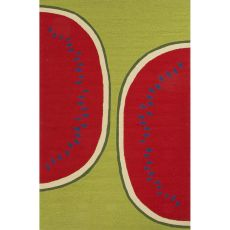 Abstract Pattern Polypropylene Grant I-O Area Rug
