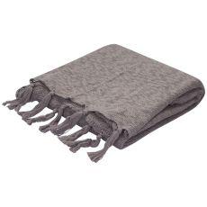 """Gray Cotton Throw (50""""X60"""")"""