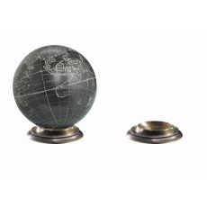 Duotone Bronze Globe Base