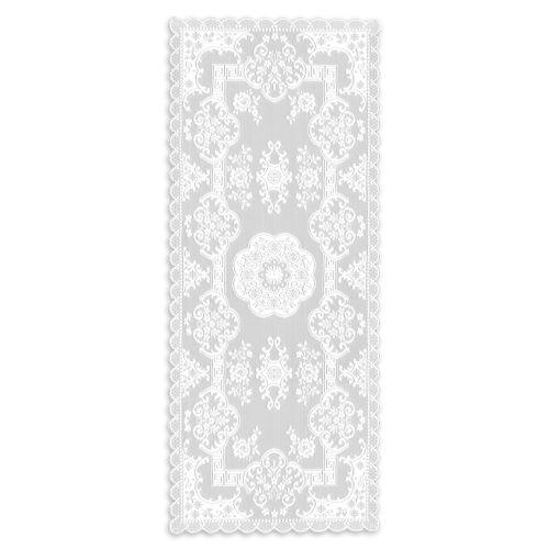 Grantham 14X36 Table Runner, White