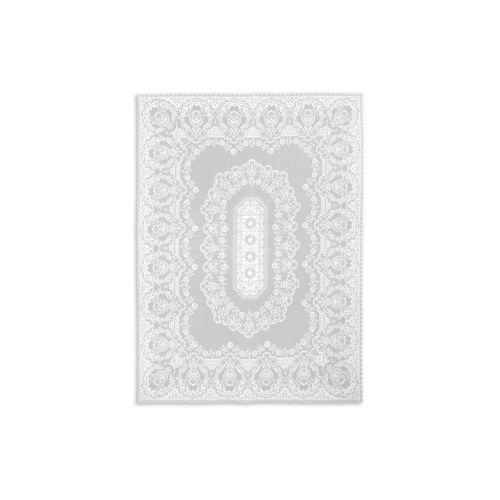 Grantham 62X84 Tablecloth, White