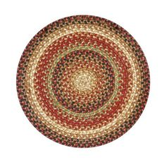 "Homespice Decor 15"" Trivet Round Gingerbread Jute Braided Accessories"