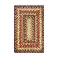 "Homespice Decor 13"" x 19"" Placemat Rect. Gingerbread Jute Braided Accessories"