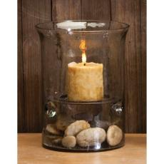 Glass Cylinder Candle Holder