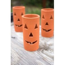 Clay Jack - O - Lantern Set of 6