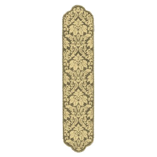 Heritage Damask 14X64 Table Runner