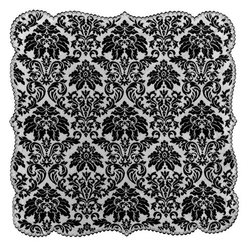 Heritage Damask 42X42 Table Topper