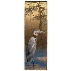 Blue Heron Wood Art