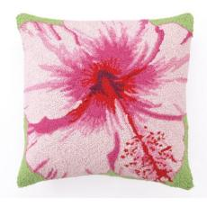 Hibiscus Hook Pillow