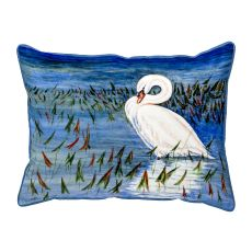 Mute Swan Large Pillow 18X18