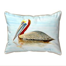 Summer Pelican Large Pillow 16X20