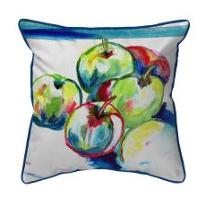 Green Apples Large Pillow 18X18