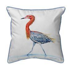 Reddish Egret Large Pillow 16X20