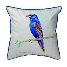 Blue Grosebeak Large Pillow 16X20