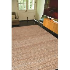 Naturals Solid Pattern Taupe/Gray Jute And Cotton Area Rug (9X12)