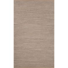 Naturals Stripes Pattern Gray Jute And Rayon Area Rug (8X10)