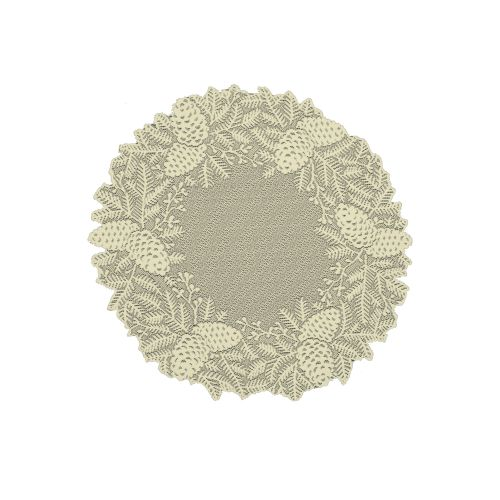 "Highland Pine 20"" Doily/Charger"