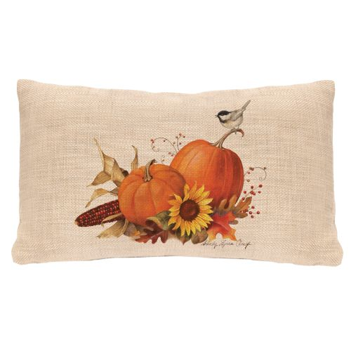 Harvest Pumpkin 12X20 Pillow