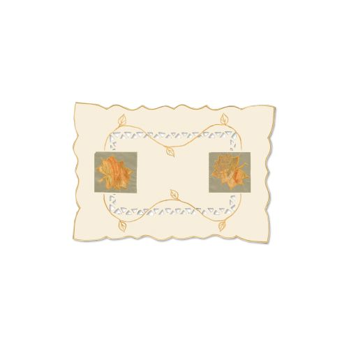 Harvest Sheer 14X20 Placemat, Cream