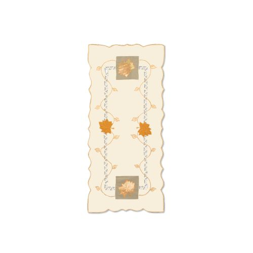 Harvest Sheer 16X36 Table Runner, Cream