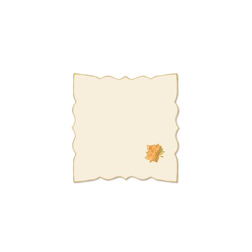 Harvest Sheer 21X21 Napkin, Cream