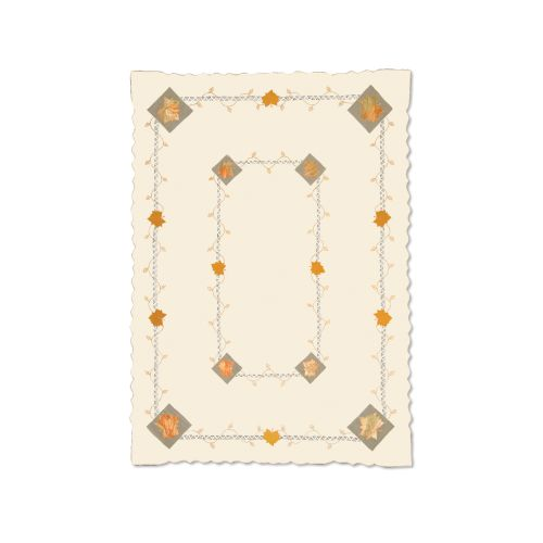 Harvest Sheer 60X84 Tablecloth, C