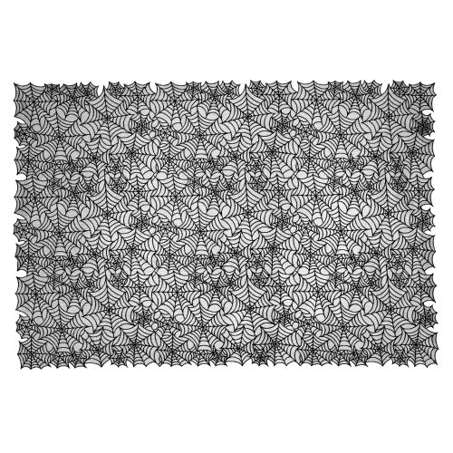 Spider Web 60X90 Tablecloth, Black