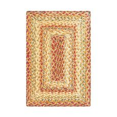 "Homespice Decor 13"" x 19"" Placemat Rect. Harvest Jute Braided Accessories"