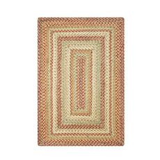 Homespice Decor 5' x 8' Rect. Harvest Jute Braided Rug