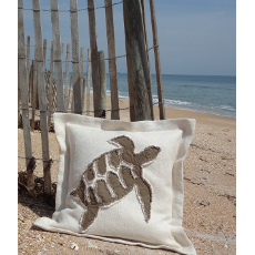 Hawksbill Turtle Sea Pillow Euro Size