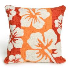 Hibiscus Warm Indoor / Outdoor Pillow