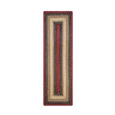 "Homespice Decor 8"" x 28"" Small Table Runner Rect. Highland Jute Braided Accessories"