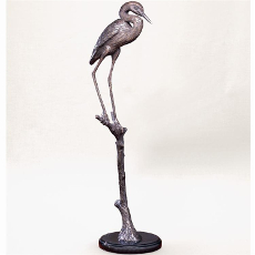 Hungry Heron Sculpture