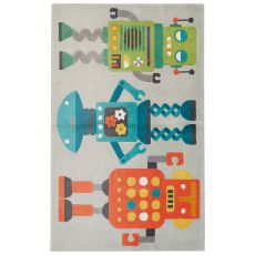 Toy Pattern Polyester Iconic By Petit Collage Area Rug