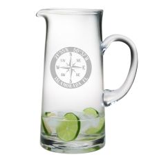 Custom Coordinates Compass Rose Tankard Pitcher