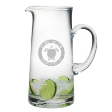 Custom Coordinates Sea Turtle Tankard Pitcher